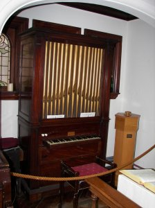 Charles Wesley's organ on which he composed