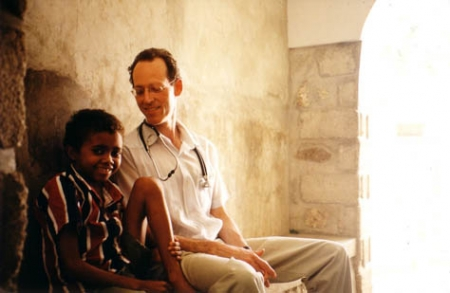 Paul Farmer & a young patient
