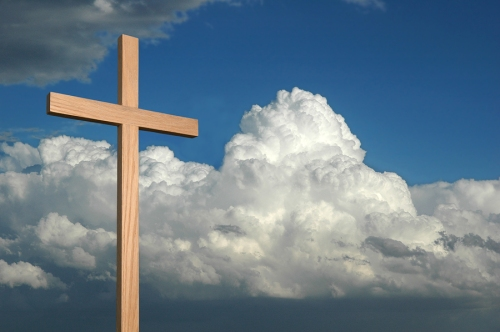 bigstockphoto_Cross_And_Sky_2241830