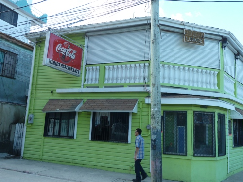 NAIR'S: BEST GREASY SPOON IN BELIZE CITY, FEATURED ON THE TRAVEL CHANNEL. AND FEATURED FOR GOOD REASON. TERRIFIC BELIZEAN DISHES.