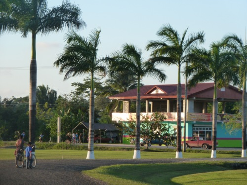 """Belmopan is a master planned capital that was created in the middle of inland, western Belize after Hurricane Hattie (1961) thoroughly crushed the former capital of Belize City. The little city (Pop. 20,000) is encircled by a giant loop they call """"The Outer Ring.&quot or Ring Road. The joggers and walkers from all over the world in the embassy town take to the roadsides on the ring when the 5 o'clock bell rings. It makes for a nice fitness track."""