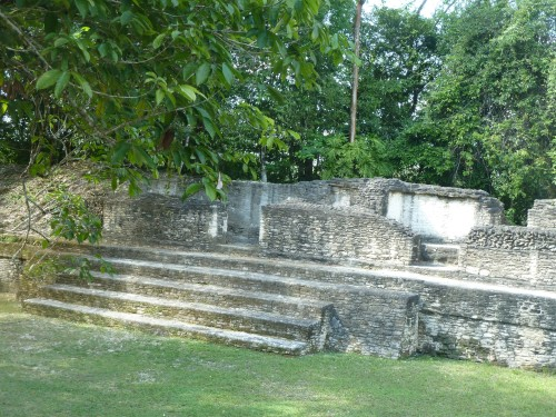 Cahal Pech: By no means the biggest Mayan tourist stop or the biggest Mayan ruins around the Belize Valley--it had maybe 10,000 to 20,000 people at its peak--but a really beautiful, shady and quiet place.
