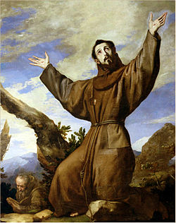 His Greatness St. Francis, the peacemaker and nature lover.
