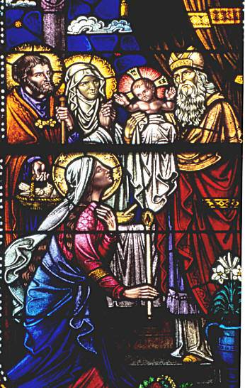 The prophet Anna (along with the prophet Simeon) waited with extreme patience for the big day that finally came when Joseph and Mary presented the baby Jesus to the Lord in the Temple.