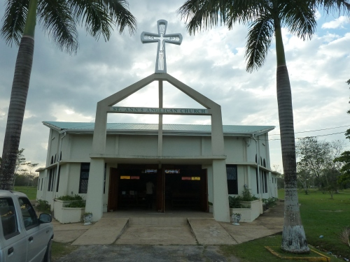 Anglican Church in Belmopan, near its denominational cousin First Methodist Church of Belmopan, which is opening its new Belmopan Methodist High School next month. Your intrepid American Methodist reporter will be there to send dispatches from Belmopan for that event.