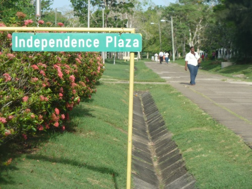 "Belmopan is a quiet, charming, pedestrian-friendly little ""garden city.""  It has some shady walking trails and the ""outer ring"" that encircles the city always has walkers or joggers on the side of the runner-friendly ""Ring Road."""