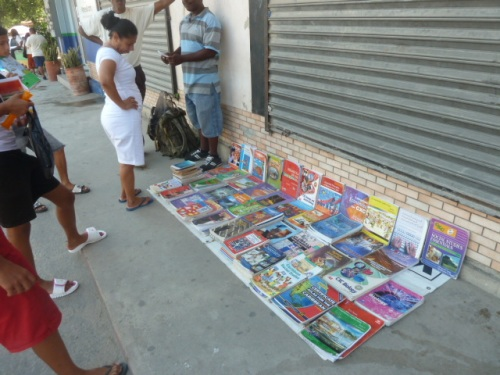 Textbooks for the school kids now on sale on the sidewalks. Nothing about these schools is free, including the required uniforms, transportation, school supplies and high fees. So it goes in so many countries, creating hardships especially in third world. Countries like Belize rely heavily on expats with their charitable donations for school kids and expats give a lot. But they can't cover all the costs for all the kids in countries where people have a lot of kids. And start really, really, sadly young at having kids.