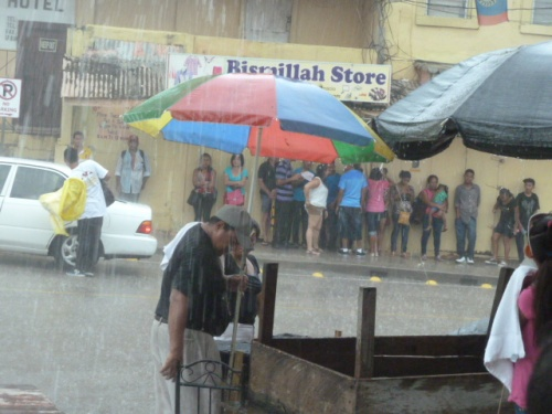 It's the rainy season in Belize, but there's rainy seasons and then there's flood years.