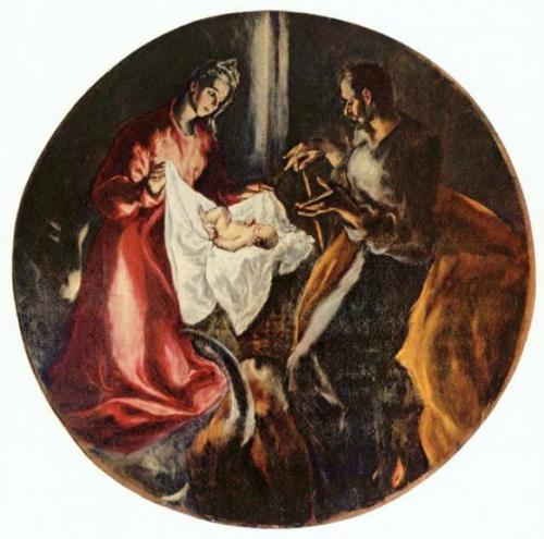 """El Greco's """"The Nativity"""""""