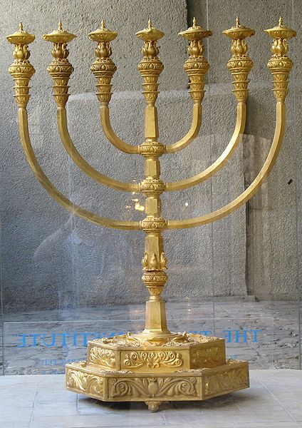"""You shall make a lampstand of pure gold."" From Exodus 25."