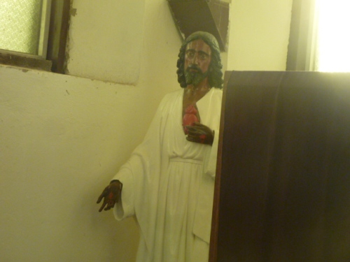 Jesus at a Catholic Church in Melchor, Guatemala