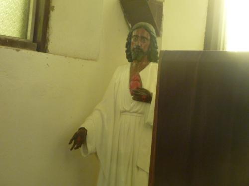 Jesus at a Catholic Church in Melchor, Guatemala