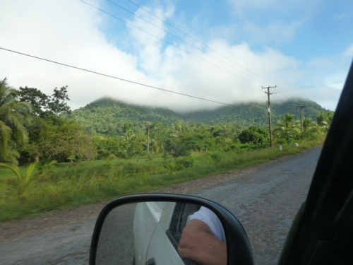 The Hummingbird Highay, one of the more scenic and smooth rides in all of mainland Belize.