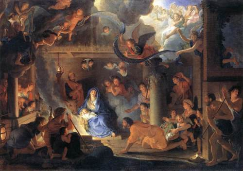 The Adoration of the Shepherds, Charles LeBrun
