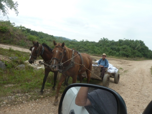 Happy trails from mainland Belize.