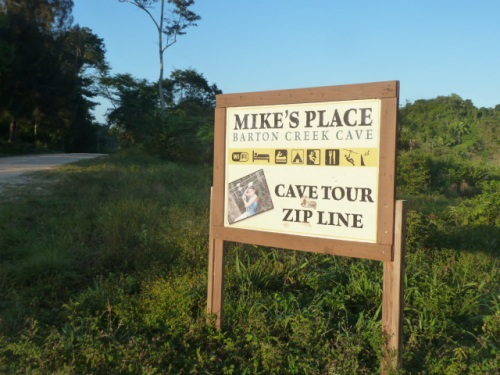 Mike's Place is a popular tourist attraction with cave tubing in ancient caves, and zip-lining. Another popular place for zip-lining, Calico Jack's, is in Seven Miles Village near Antonio's family farm.