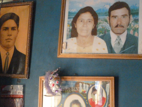 Antonio's parents in the younger days.