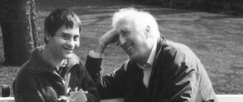 Jean Vanier, a former military officer who became a Christian philosopher devoted to living with and serving people with disabilities. His L'Arche communities for the disabled are located in places around the world.
