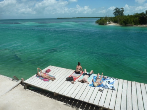 All in all I'd rather be way out there, snorkeling off the shores of Caye Caulker.