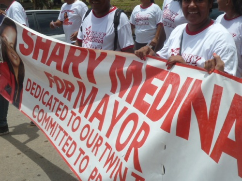 Town Council member Shary Medina, who teaches English at a high school, made her second run for mayor of San Ignacio/Santa Elena with a massive campaign--and lost to another veteran male council rep. The twin towns aren't ready for a feminist mayor.