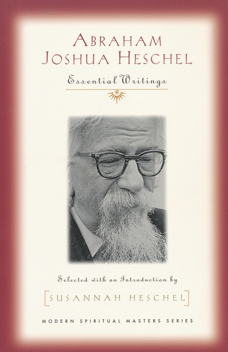 """FROM BARNES & NOBLES BLURB: Abraham Joshua Heschel (1907-1972) was one of the great religious teachers and moral prophets of our time. Born in Warsaw to a long line of Hasidic rabbis, he chose instead to study philosophy in Germany. Expelled back to Warsaw, he escaped just weeks before the Nazi invasion and settled in the United States. Through a series of books, he contributed greatly to the spiritual renewal of Judaism. But he exerted an equal influence on Christians-so much that he was called another """"apostle to the gentiles."""" A passionate champion of interfaith dialogue, he served as an official observer at Vatican II and was influential in challenging the Catholic Church to overcome the legacy of anti-Semitism. He raised a prophetic challenge to the social issues of his day, marching with Martin Luther King, Jr. and protesting the Vietnam War. His writings here on prayer, God, prophecy, the human condition, and the spiritual life vividly communicate his instinct for the """"holy dimension of all existence."""