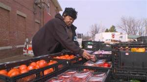 At age 69, this retired Arkansas nurse is feeding seniors who sometimes have to decide between spending money for medicine or a hot meal. (Photo from NBC News)