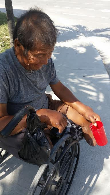 There may be no poverty as bad as the poverty of isolation and loneliness, especially for the poor. Picture: my friend Francisco, who needs your prayers.