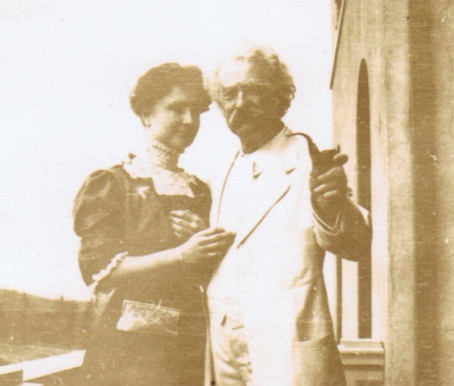 Mark Twain's love and affection for Helen Keller is further evidence that a lot of atheists have the hearts and minds and moral values that seem to get lost on so many people of Christian faith.