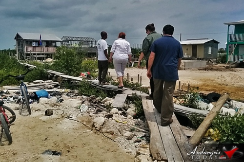 Officials from Florida State University teamed up with Belize's Red Cross to assess the risks to residents of San Mateo.