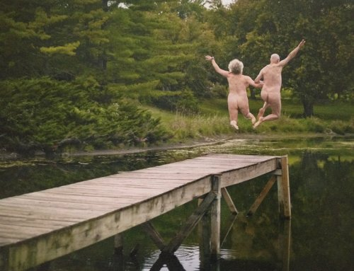 And I'm declaring tomorrow National Skinny Dipping Day so get yourself psyched up!