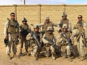 Many was the night I tossed and turned and prayed and, frankly, worried away the hours wondering if my only son Adam McKay (left) was safe and sound wherever he was in Harm's Way. Bless you the vets.