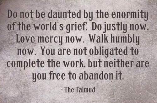 Wisdom from the Jewish Talmud.