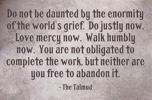Wisdom from the Jewish Talmud.