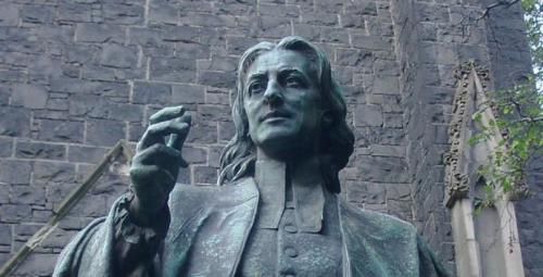 "Brother John Wesley prowled the dark, back alleys of London, ""hearing the cries of beggars"" and giving them alms that he had begged for. He insisted that ""the people called Methodists"" put faith and love into action and that meant acting to lift up the poor in small, personal gestures as well as ministries that reached the marginalized masses."