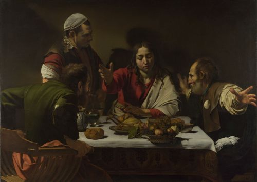"Caravaggio's ""Supper at Emmaus,"" 1601"