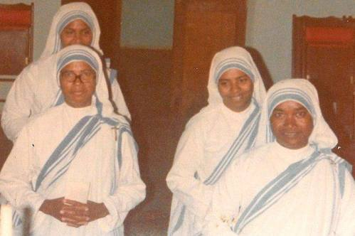 The Missionaries of Charity killed in Yemen last week. Sr. Anselm from India, Sr. Margherite from Rwanda, Sr. Reginette from Rwanda, and Sr. Judith from Kenya. They were killed along with 12 elderly people at the retirement home that they ran in Aden.