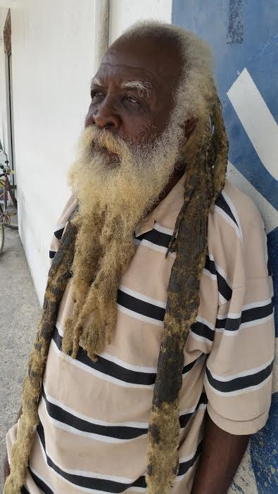 YOUR BELIZEAN FACE OF THE DAY: One of the (many) street characters you'll see on the streets of Belize City.