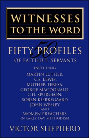 Canadian preacher, (very readable!) author and Wesleyan scholar Victor Shepherd knows his world history and brings impressive historical context and depth to all his works.