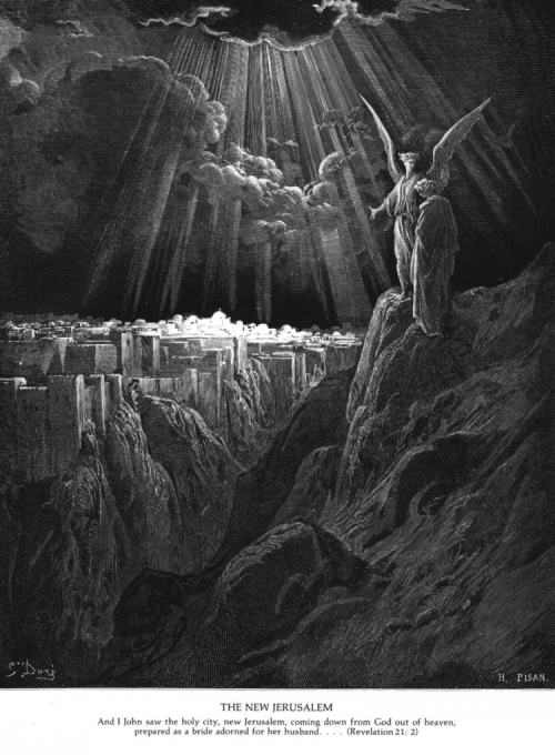 ENGRAVING BY GUSTAV DORÉ,  (1832-1883)