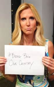 "Right-wing profiteer Ann Coulter, who unfortunately has a huge following, says God gave us dominion over earth and that we therefore have a right to ""rape"" God's creation."