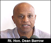 Dean Barrow, Prime Minister of Belize