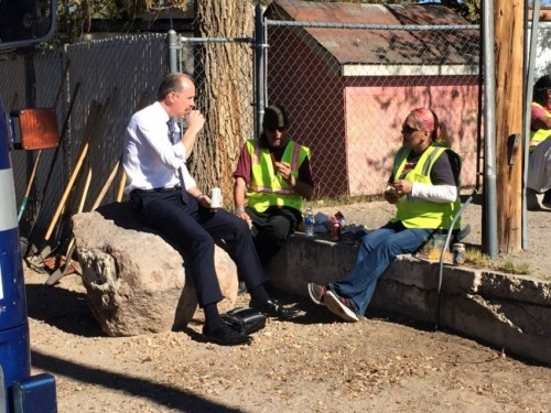 Rather than criminalizing homelessness and panhandling, this Republican mayor came up with a creative solution. That's how authentic, pragmatic, principled conservatism is supposed to work.