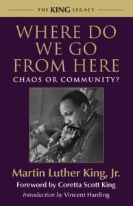 """The aftermath of nonviolence is the creation of the beloved community, while the aftermath of violence is tragic bitterness."" -- MLK Jr, on his vision of ""the beloved community."""