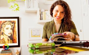 "Maria Popova, the brains behind ""Brain Pickings."" She describes herself as ""a reader, writer, interestingness hunter-gatherer, and curious mind at large."""