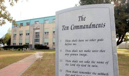 Many who claim to be Christian want The Ten Commandments prominently displayed on school and courthouse lawns, in courtrooms and elsewhere. Sometimes I wonder if they've ever read and thought about the Then Commandments in trying to justify and defend Donald Trump's propensity for lying and bearing false witness.